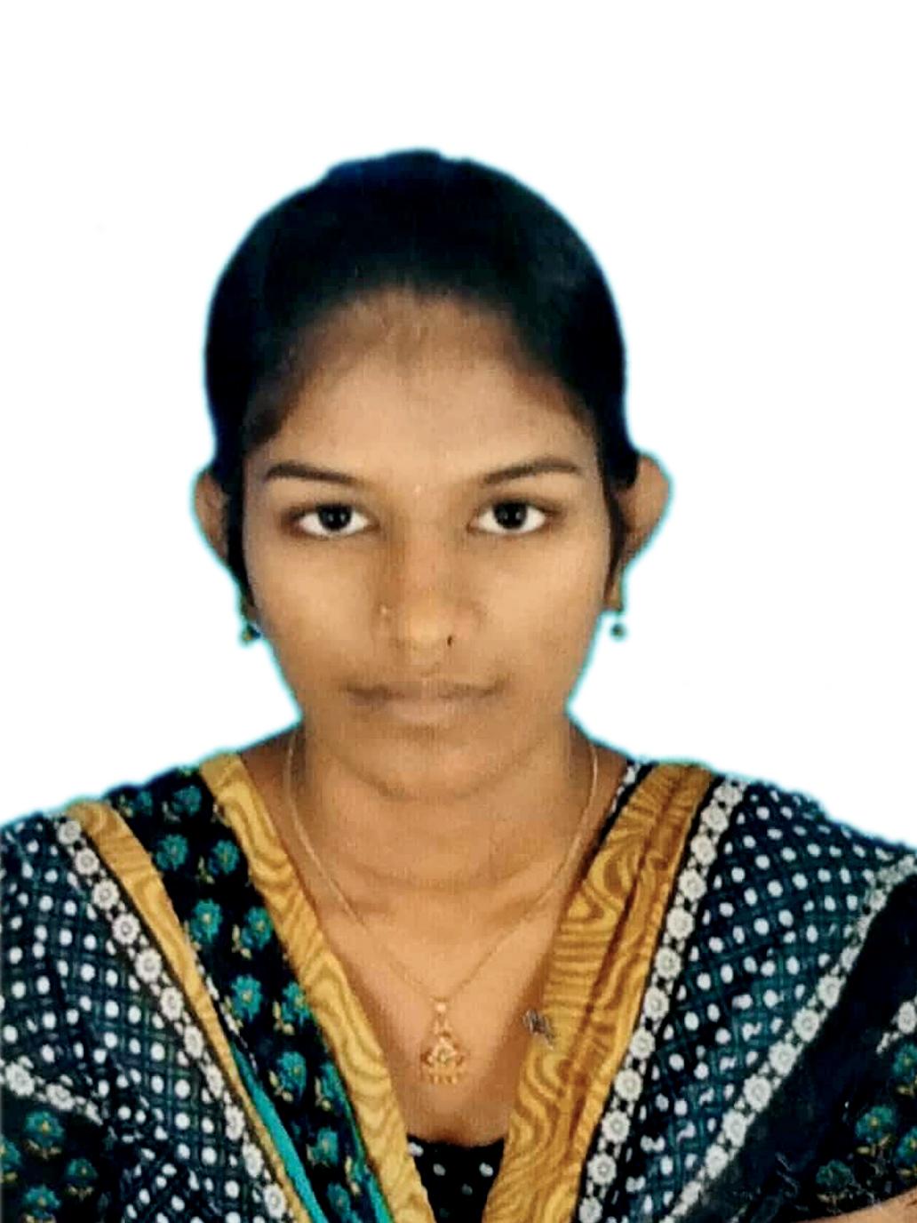 Sangeetha K(221504817)B.SC(CS)April 2018- Rank 55